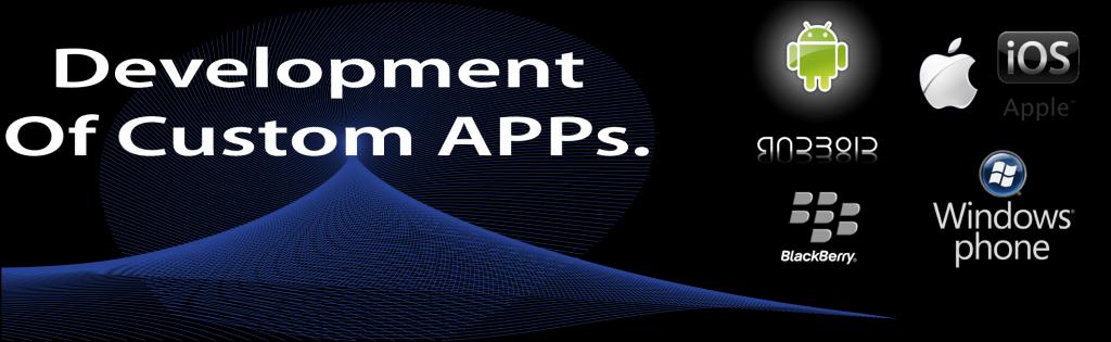 development of custom apps