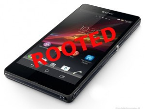 Xperia Z Rooted