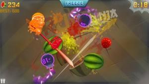 fruit ninja 1 es
