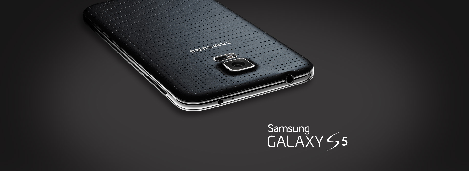 The Samsung Galaxy S5 is here!