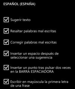 options-es