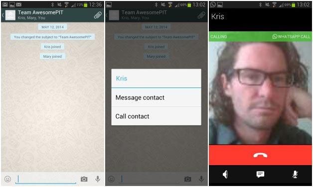 WhatsApp hace público su nuevo servicio de llamadas de voz