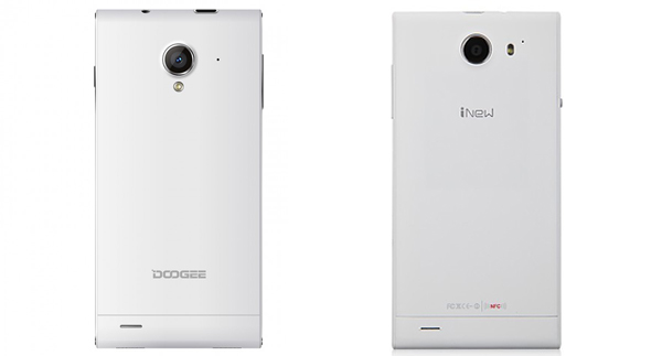 Comparison review of Doogee DG550 and iNew v3