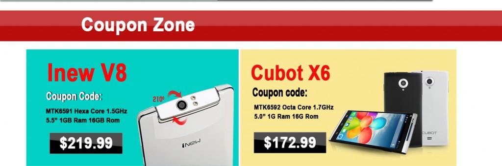 Hot Purchase Countdown: Ulefone U5 at $102.99, Leagoo Lead 3 at $69.90, iNew V8 at $30 coupon, Cubot X6 at $6 coupon, iOcean X8 Mini at $155.99