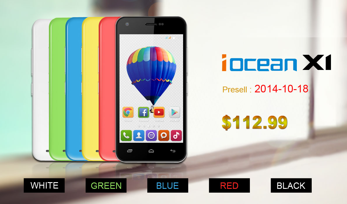 Chinese National Day Amazing Promotion [ Exclusive Presell ] iOcean X1 & Great Discounts from 1949deal.com-2
