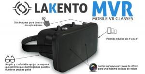 Lakento MVR, os óculos de realidade virtual feitos em Espanha