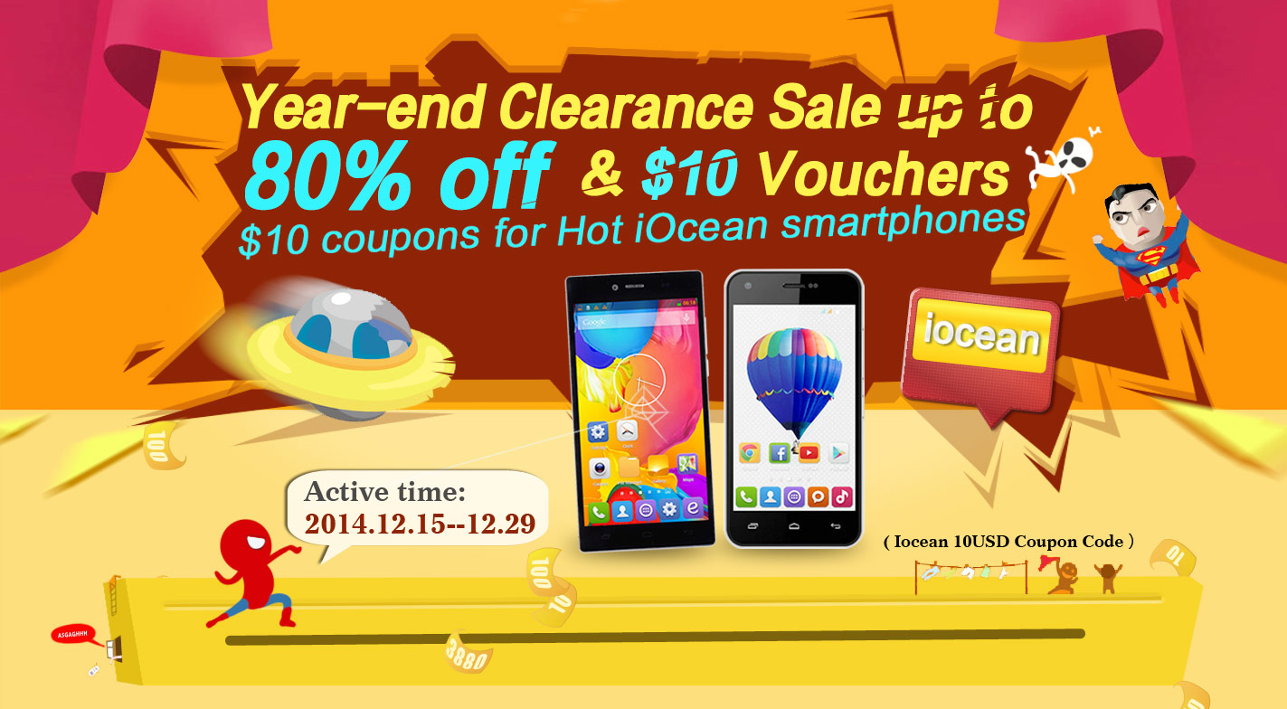 Year-end clearance sale and iOcean smartphone coupon from 1949deal-1
