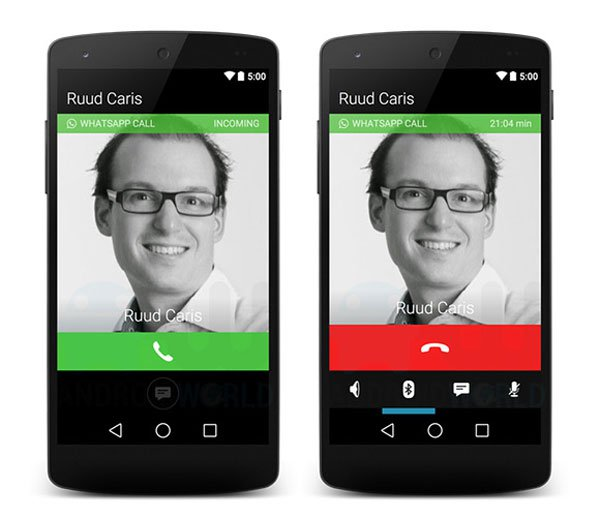 WhatsApp now makes free calls 2