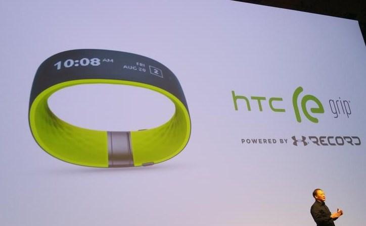 HTC presenta una pulsera inteligente orientada al ejercicio llamada HTC Re Grip 1