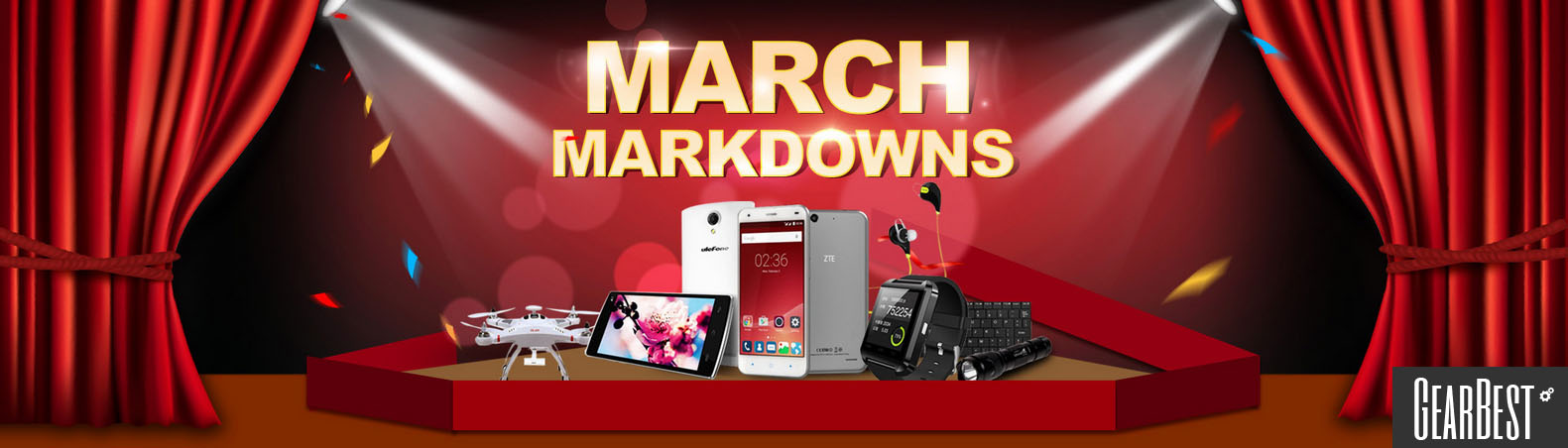 March Markdowns on GearBest 1