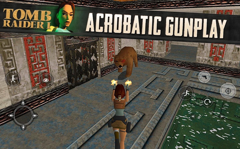 A Lara Croft do Tomb Raider Original, finalmente em Android