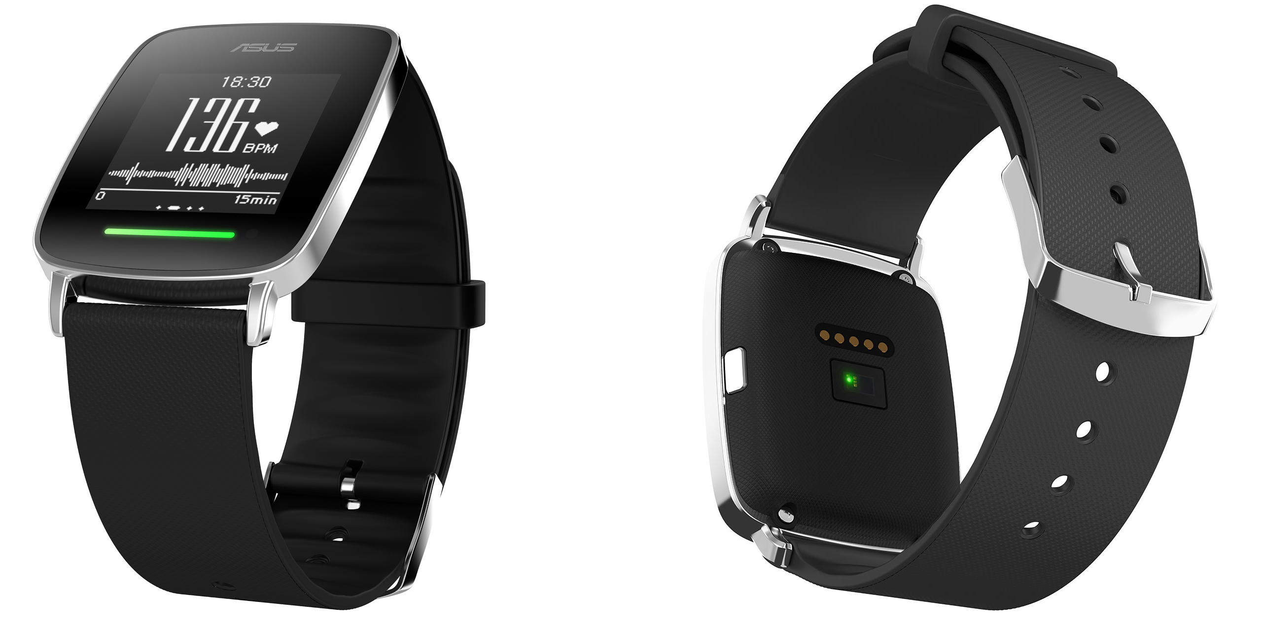 Asus VivoWatch, a smartwatch with autonomy for 10 days