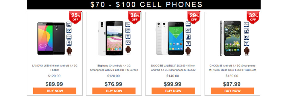 Cell Phone Bargain Hunt on Gearbest 4