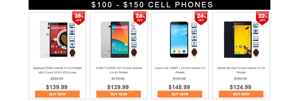 Cell Phone Bargain Hunt on Gearbest 5