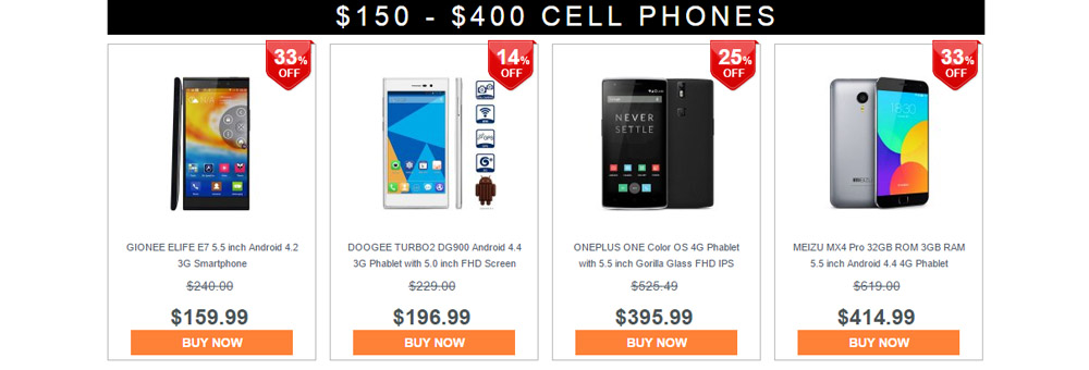 Cell Phone Bargain Hunt on Gearbest 6