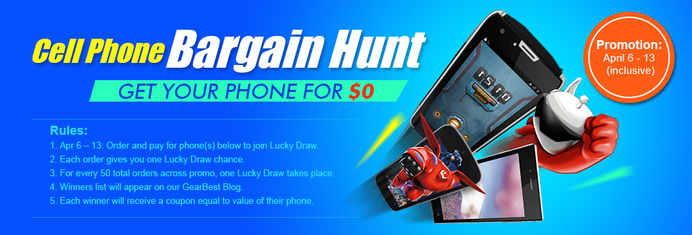 Cell Phone Bargain Hunt on Gearbest 1