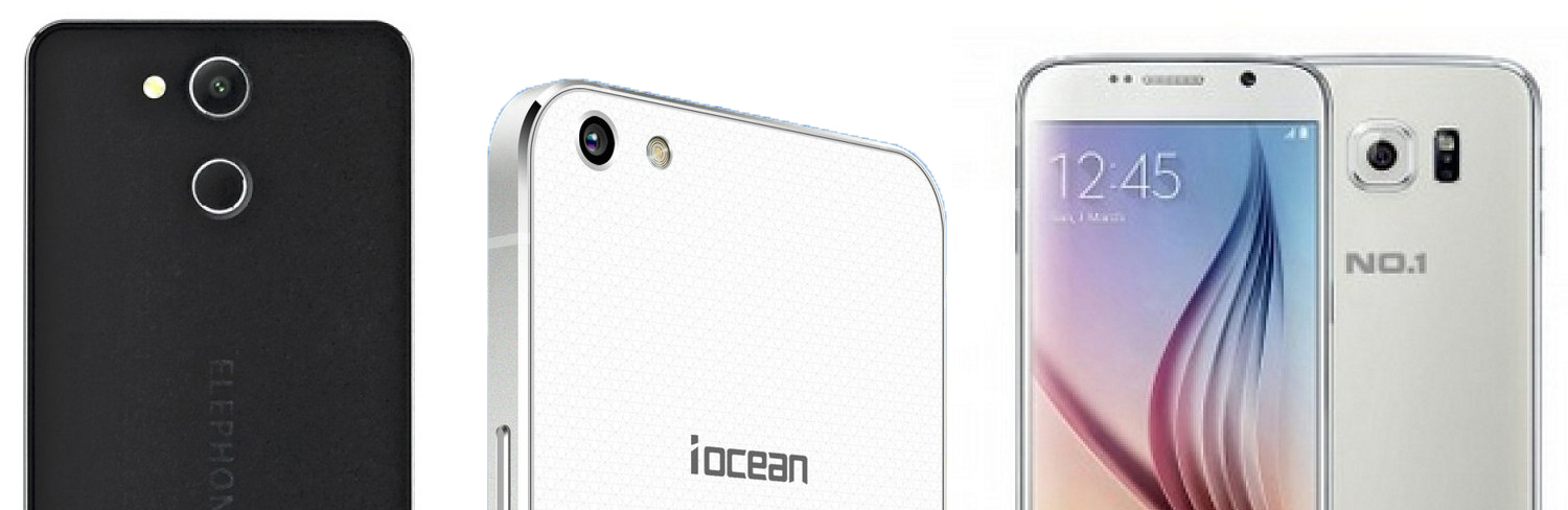 Elephone P7000, iOcean x9, NO.1 S6I review from 1949deal