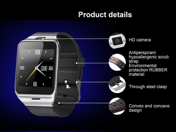 GV18 Aplus Smart Watch Phone Review 2