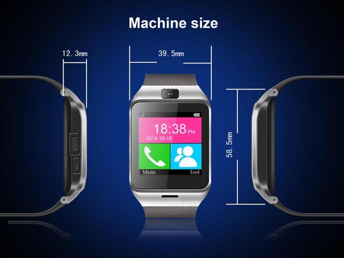 GV18 Aplus Smart Watch Phone Review 4