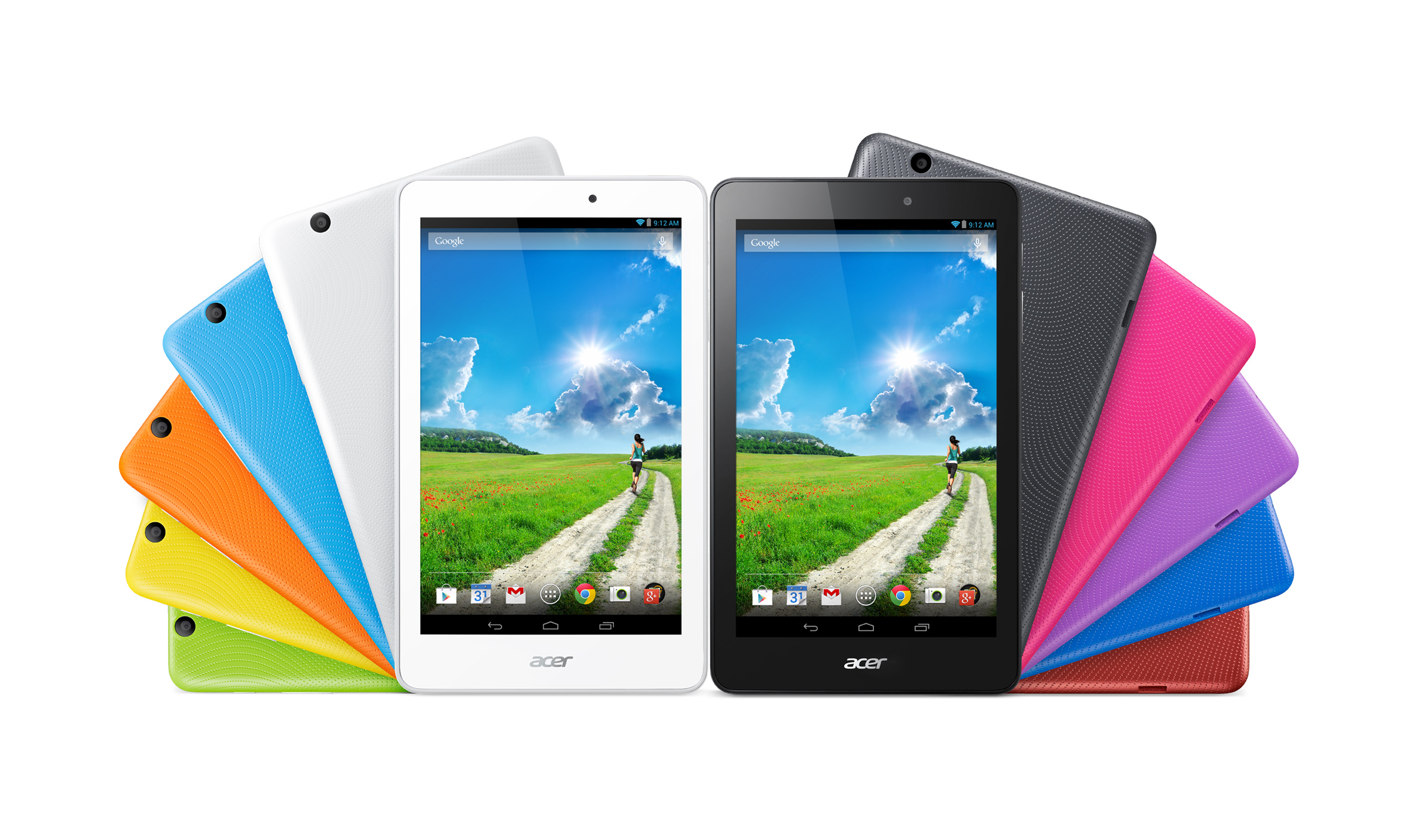 Novos tablets Acer Iconia One 8 e Iconia Tab 10 2