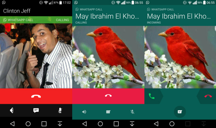 Nova beta de WhatsApp com Material Design 1