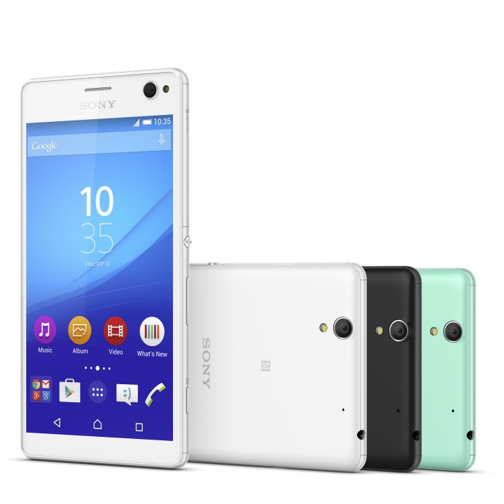 Sony Xperia C4, a new mid-range with a large screen