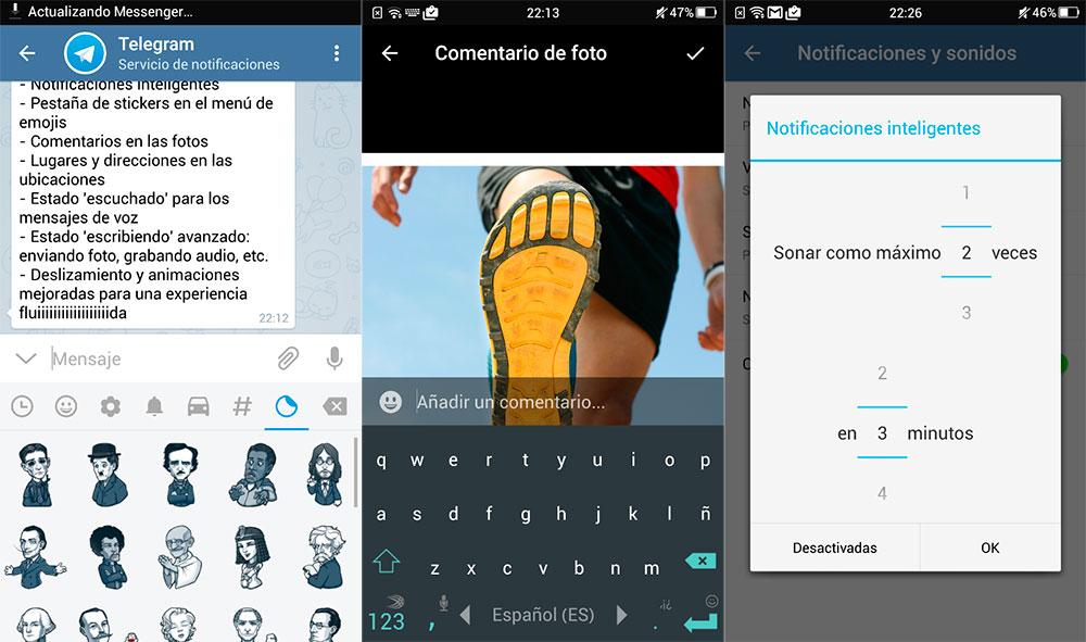 Telegram 2.8 trae nuevas notificaciones inteligentes y mucho más 2