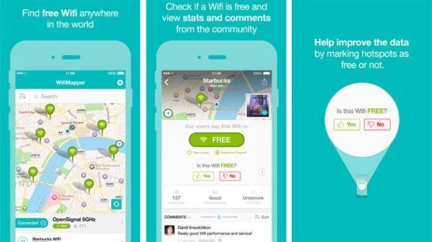 WifiMapper ajuda você a encontrar Wi-Fi grátis