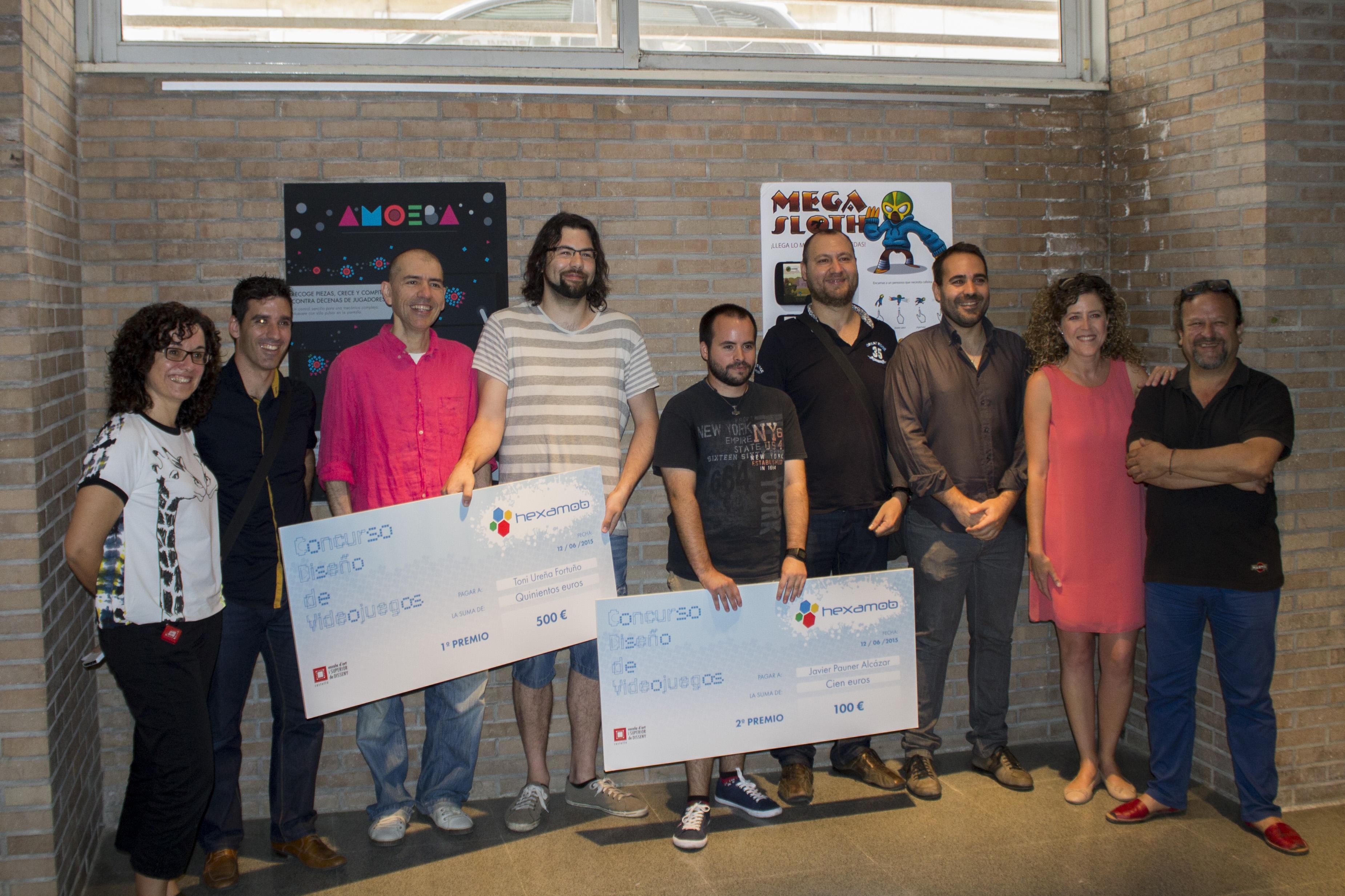 Entrega de premios - Concurso de diseño de Hexamob 1