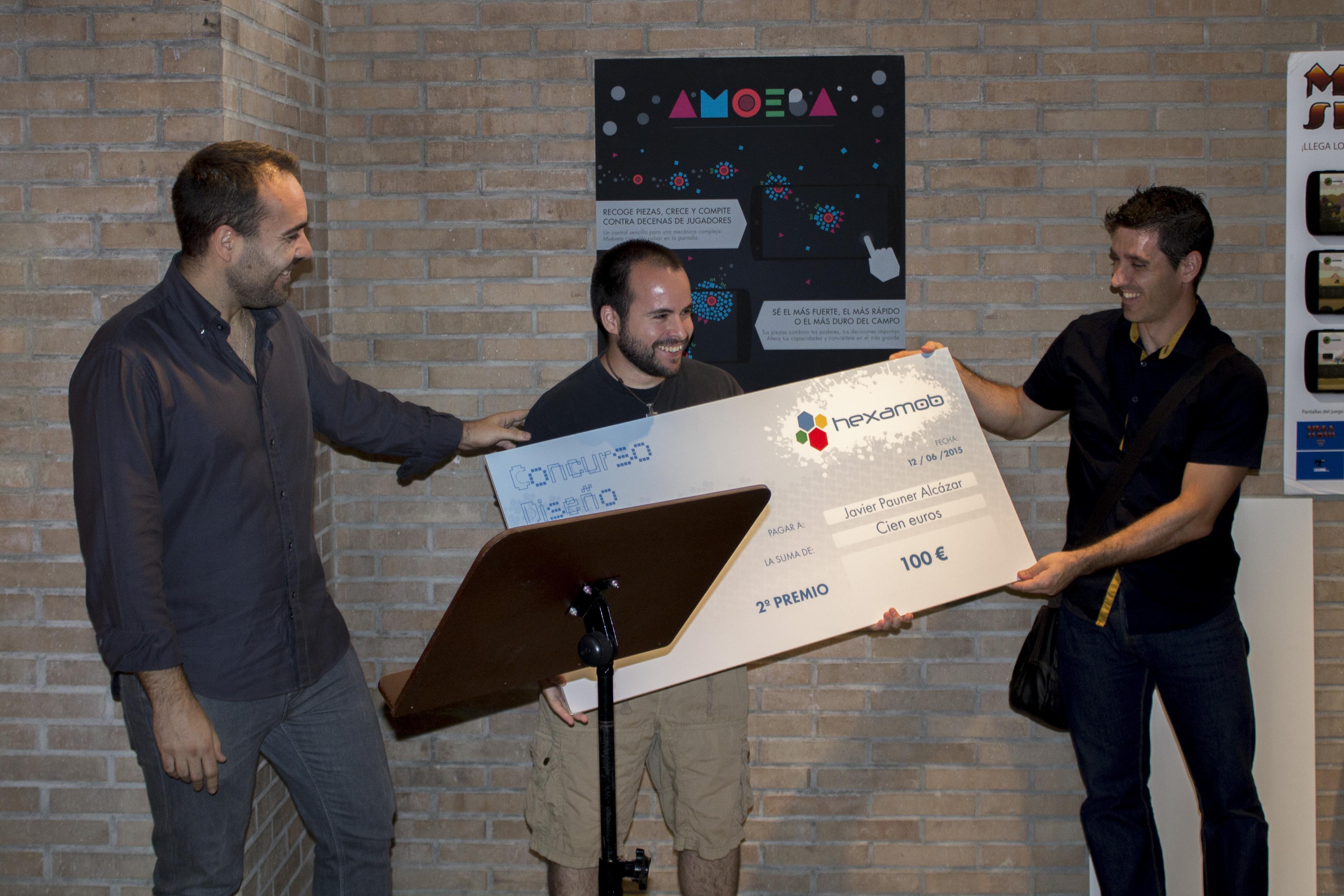 Entrega de premios - Concurso de diseño de Hexamob 3