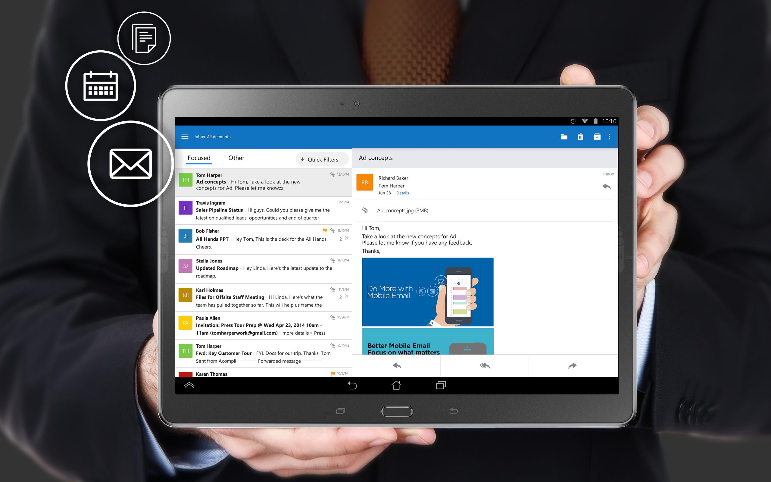 Microsoft não vai dar suporte ao velho Outlook para Android desde o próximo mês 1