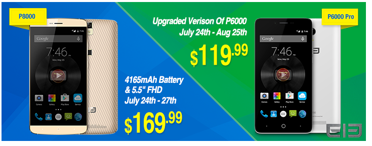 Elephone P6000 Pro & Elephone P8000 Promotion from Everbuying 1
