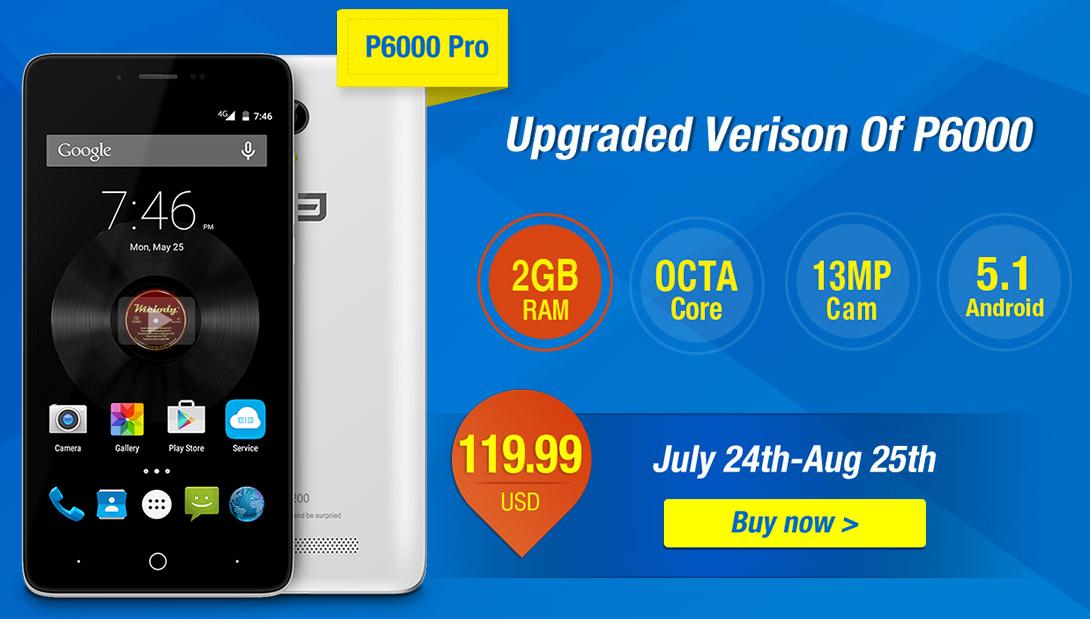 Elephone P6000 Pro & Elephone P8000 Promotion from Everbuying 2