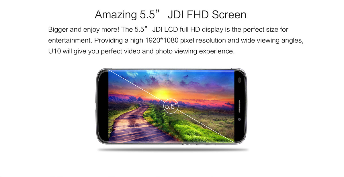 Oukitel U10, new device of high performance at low price 2