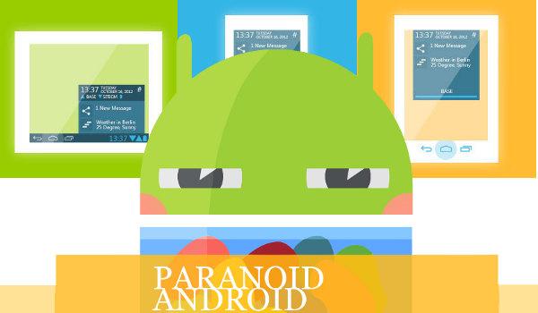 Paranoid Android 5.1 disponível finalmente 1