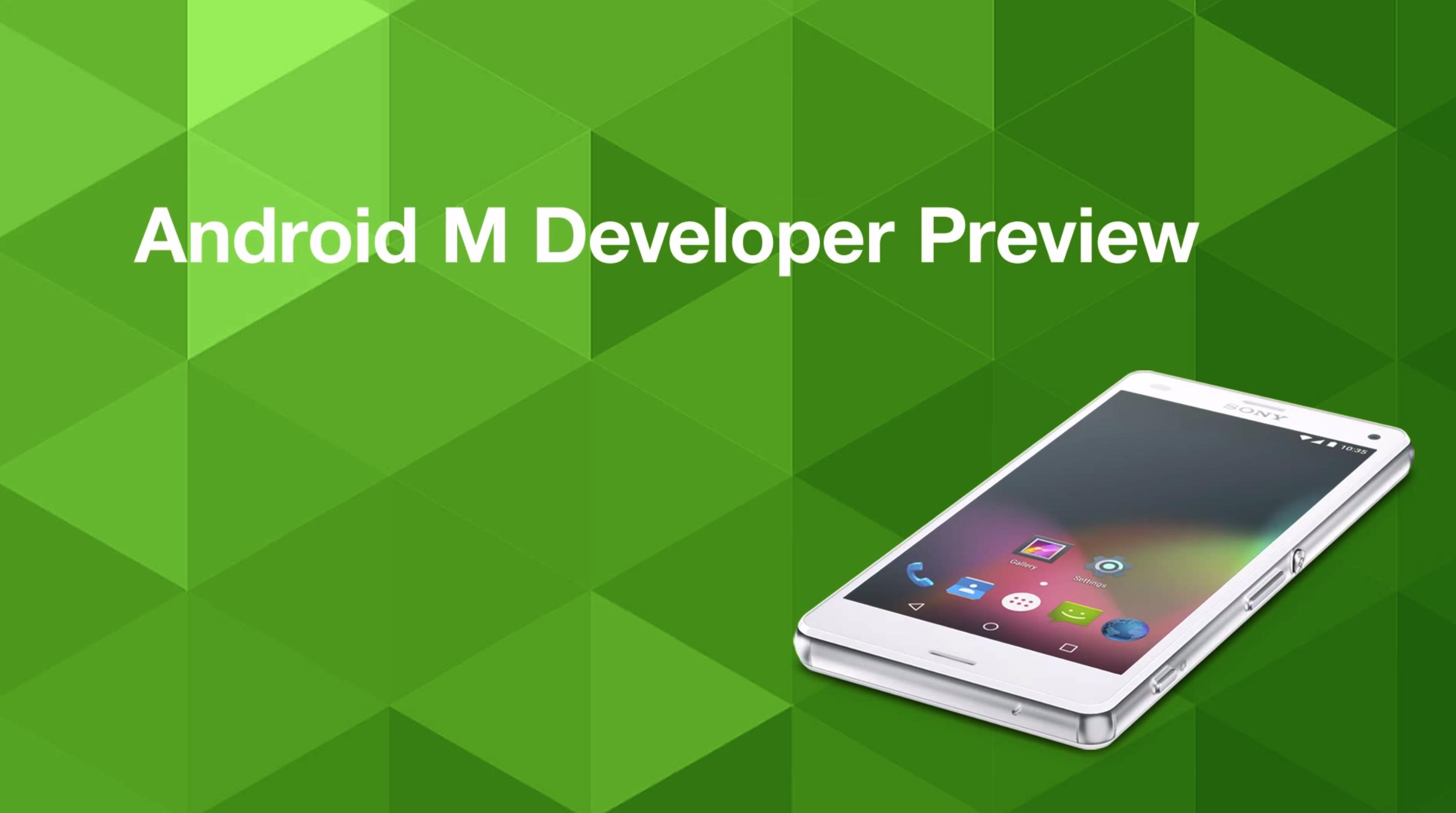 Android M Developer Preview 3 já está disponível, o último passo para obter Android 6.0 Marshmallow 1