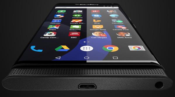 El primer BlackBerry com Android se llamaría Venice 1