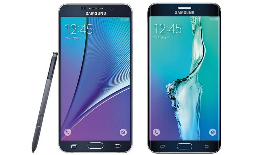 First images of the Samsung Galaxy Note 5 and Galaxy S6 Edge Plus revealed 1