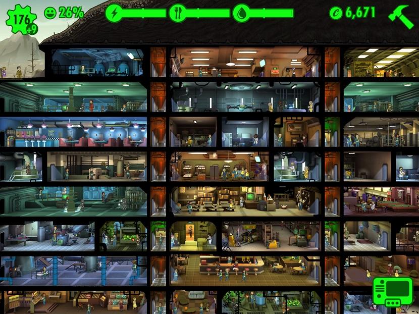 Loucura desencadeada com Fallout Shelter em sua chegada a Android 1