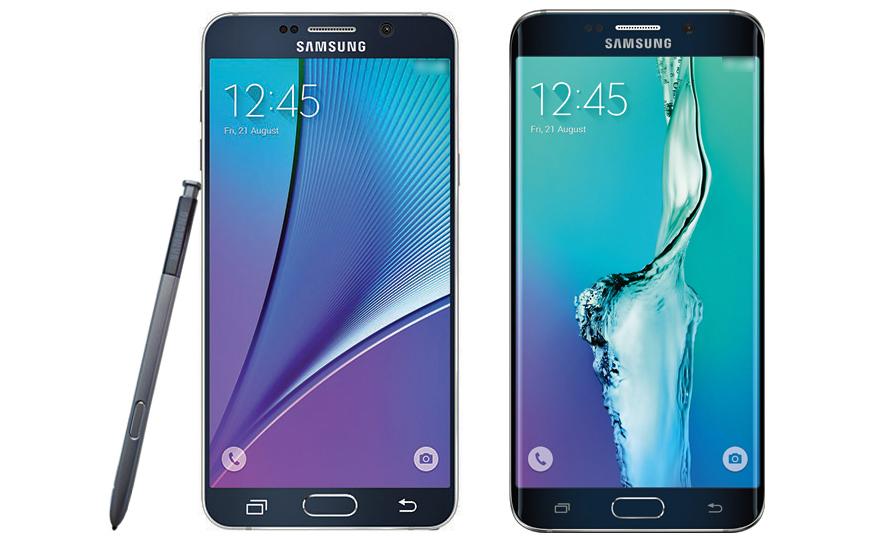 Primeras imágenes del Samsung Galaxy Note 5 y Galaxy S6 Edge Plus reveladas 1