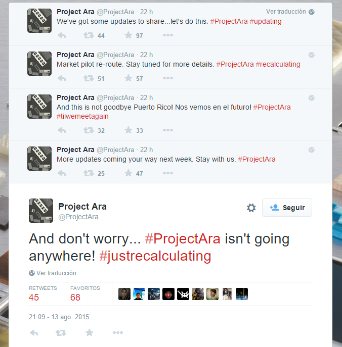 Project Ara shows signs of life after a while 1