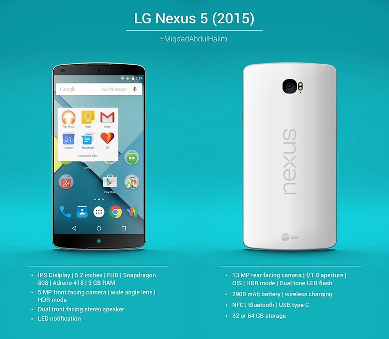The new LG Nexus would premiere Android Pay 1