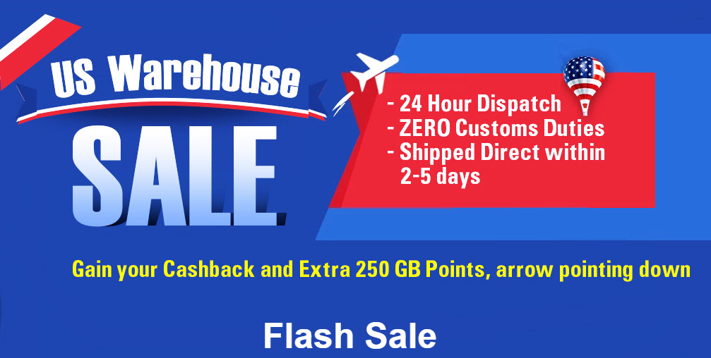 US warehouse Promotion from Gearbest (Flash sale) 1