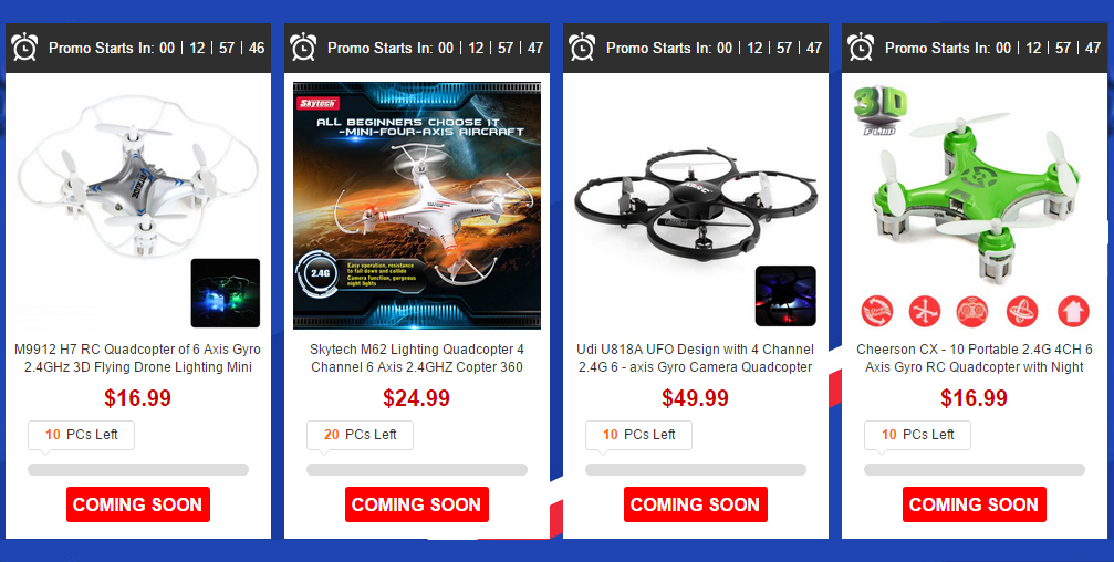 US warehouse Promotion from Gearbest (Flash sale) 2
