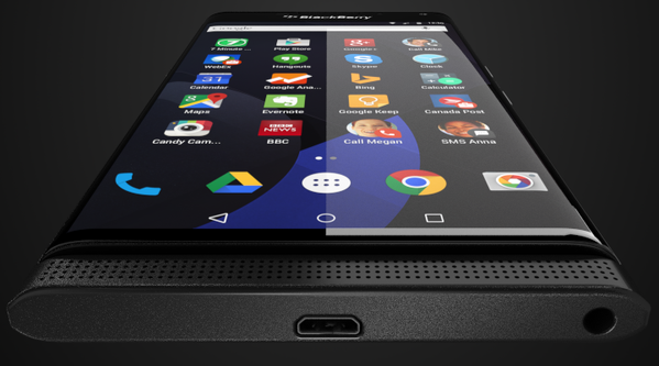 Venice, the first BlackBerry with Android 1