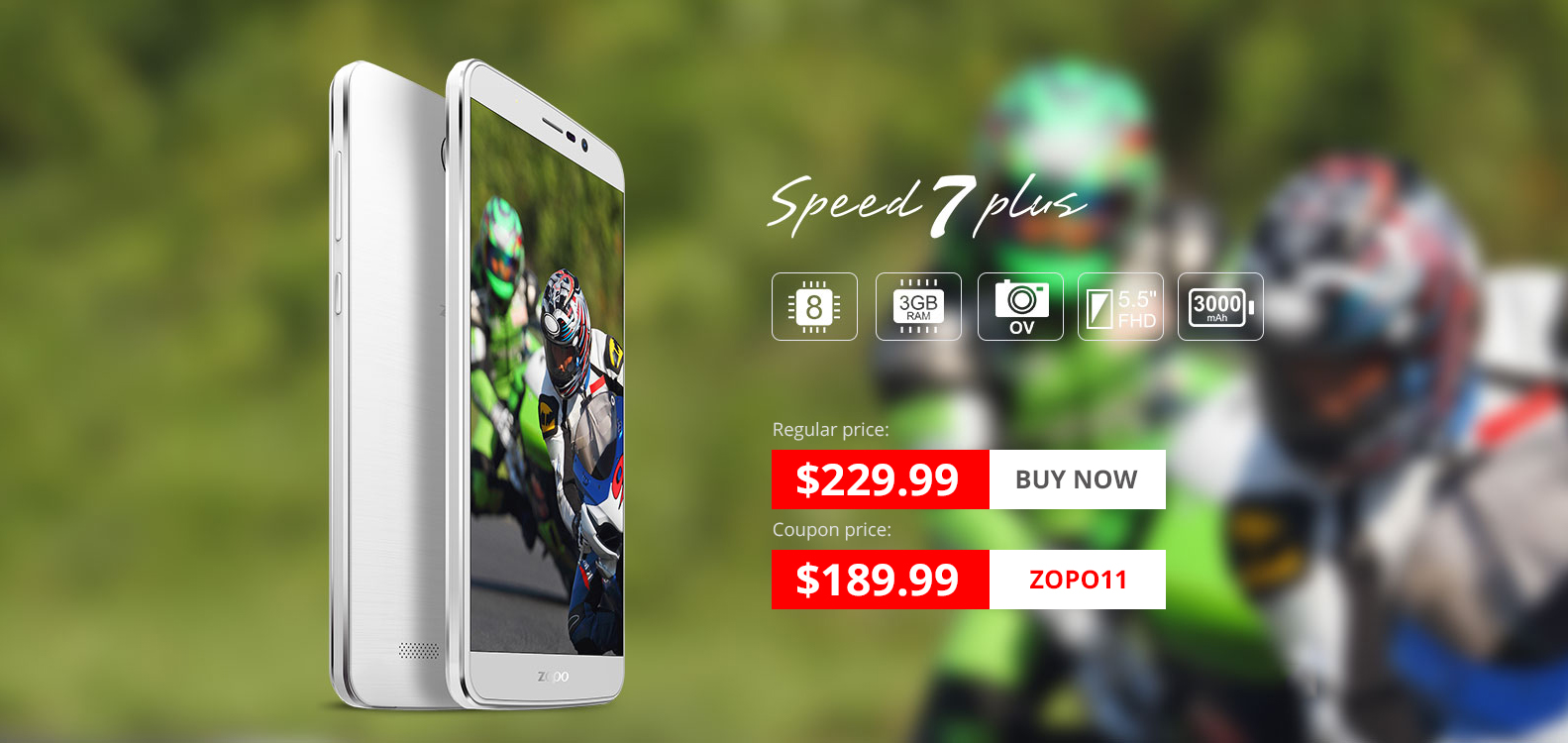 Zopo Speed 7 and 7 Plus Promotion from Everbuying 2