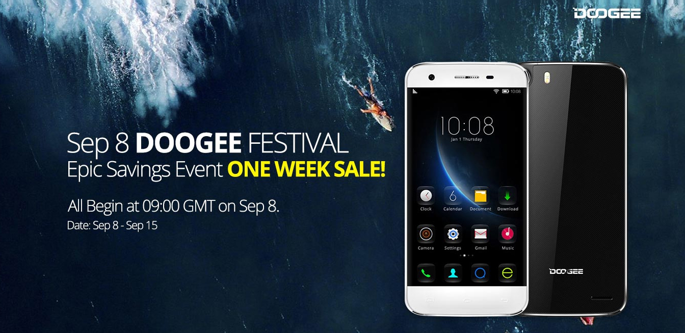 Doogee Festival (Products Savings Event) from Everbuying 0