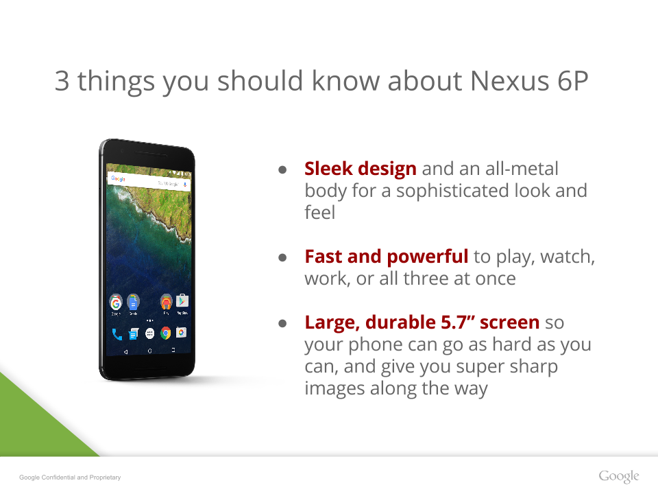 New Huawei Nexus 6P completely leaked for tomorrow 1