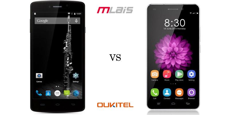 Mlais MX VS Oukitel U8 from Everbuying 1