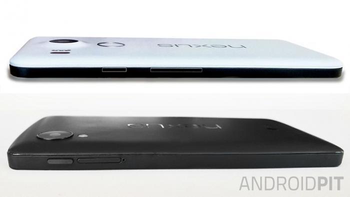 O LG Nexus 5X da Google mostra novas imagens e aparência 1